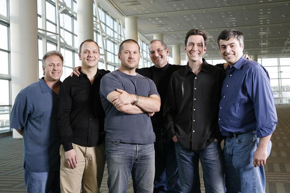 倪爽。苹果手机团队。乔布斯